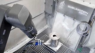 robot sublimotion blasting stralen