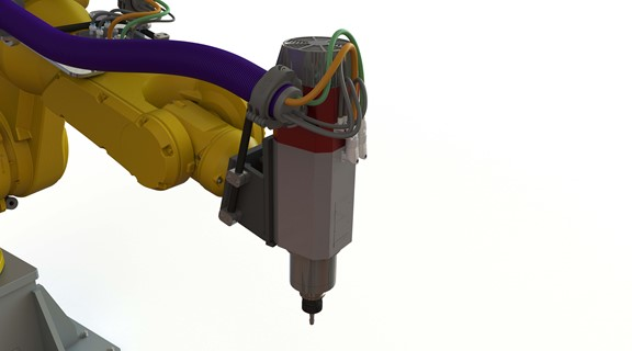 motor with automatic tool changing