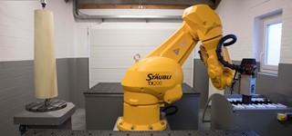 Robot frezen vacuüm