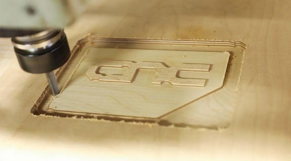 milling logo cnc wood
